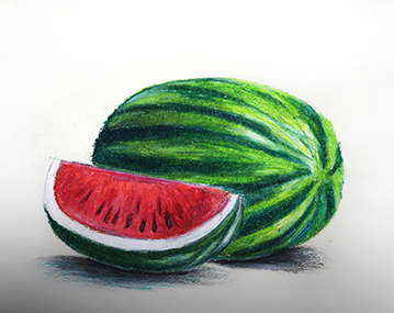 05. How to draw Fruits